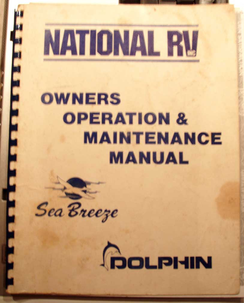 dolphin brochure rh marill com RV Owners ManualsOnline Motorhome Owners Manuals